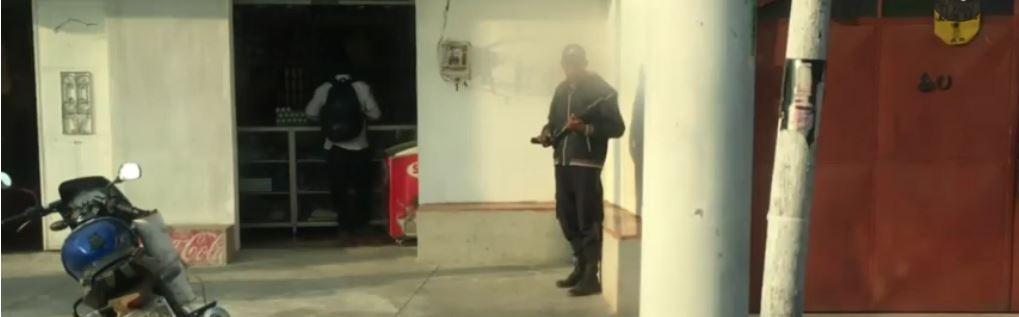 Armed Guard ©KFYR-TV