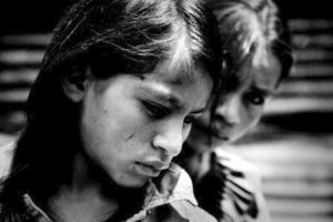 girls under stress and poverty